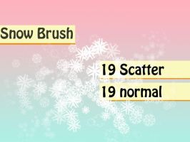 Snowflake Brushes by rev-jesse-c-stock
