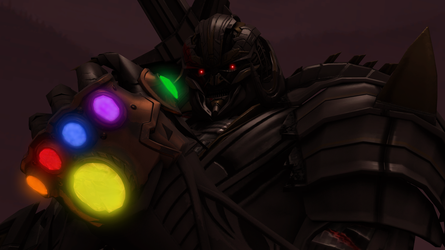 The Stones Are Mine! by MEGATRON-RETURNS