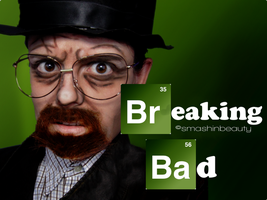 Breaking Bad Makeup Halloween 2013 heisenberg  by smashinbeauty
