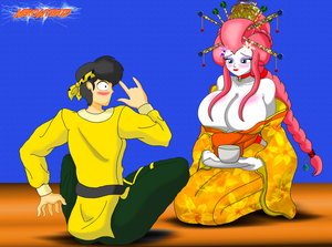 Commission: Geisha Ranma 2 by NekoHybrid
