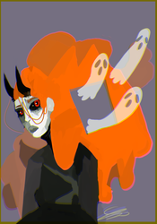 spoopy ghost child by Zelda-muffins