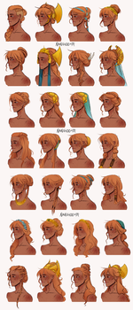 More Sigyn hair by Nanihoo
