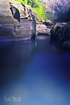 River Blues of Sangu 2 by yearuzzaman