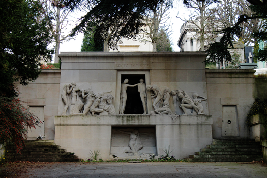Pere-Lachaise Cemetery 02 by lallirrr-photography