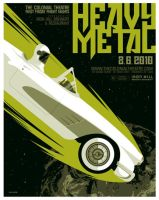heavy metal poster by strongstuff