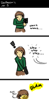 Doodlecomic - 1 by johnnoz