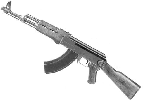 AK-47 by PencilSessions