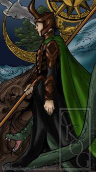 Loki King of Asgard by ClopinKingOfGypsies
