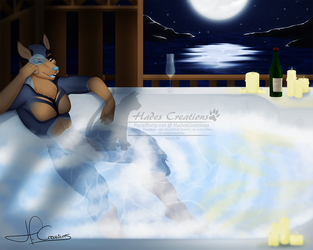 |YCH 006| Bubbly Night by HadesCreations