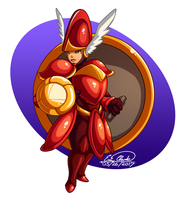 Shield Knight by Sawuinhaff