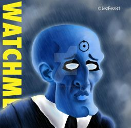 Watchmen-Dr Manhattan Handsome by Jezzy-Fezzy