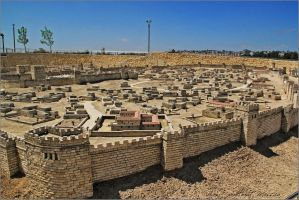 Second Temple Model by ShlomitMessica