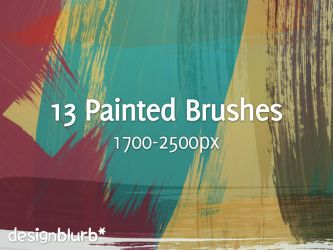 Painted Strokes Brushes - CS3 by eliburford