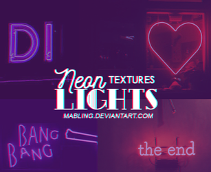 Neon Light Pack By Mabling by mabling