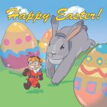 Happy powerfull Easter!! by DrClosure