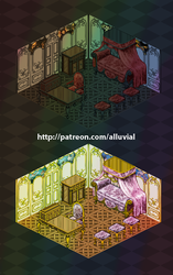 Gumroad: Rococo room patch (Complete!) by Alluvial