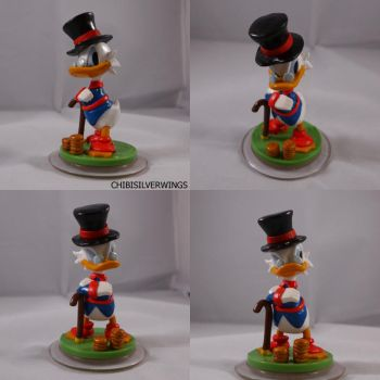 Disney Infinity Donald Scrooge McDuck Mod by ChibiSilverWings