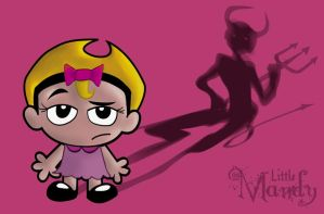 Little Mandy is Pure Evil by okinsei