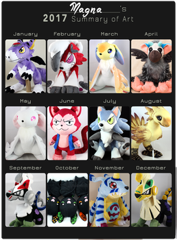 2017 plush summary by MagnaStorm
