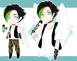 .:.{Punk Angel Adoptable Auction -CLOSED-}.:. by Drakyblack