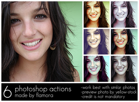 Photoshop Actions Set One. by flamora