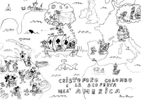 Christopher Columbus and the discovery of America by MarcoMarasco