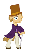 Willy Wonka Pony by SpikesMustache