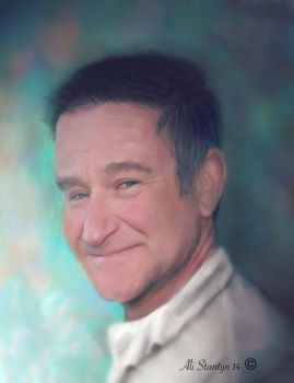 Robin Williams by Tylene