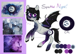 Moodboard Pony Auction [CLOSED] Speckled Night by JellyBeanBullet