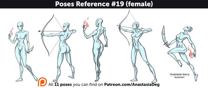 Poses Reference #19 (female) by Anastasia-berry