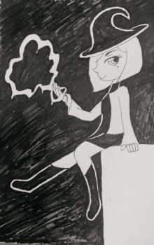 Day 8: Blood Witch by Tailsimp