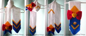 Super Sailor Moon Scarf by CrafterOfManyThings