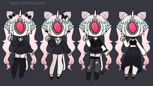 Outfit set - Yaoi by hello-planet-chan