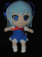 Cirno Plush by HannahDoma