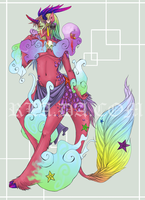 Bloody Candy Qilin by RainbowLuvAdopts