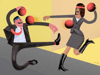 Corporate Dodgeball by seanmetcalf