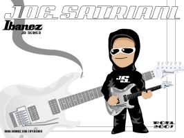 Joe Satriani Chibi 2 by roelworks