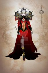 Elizabeth Bathory - Concept Red by KinderCollective