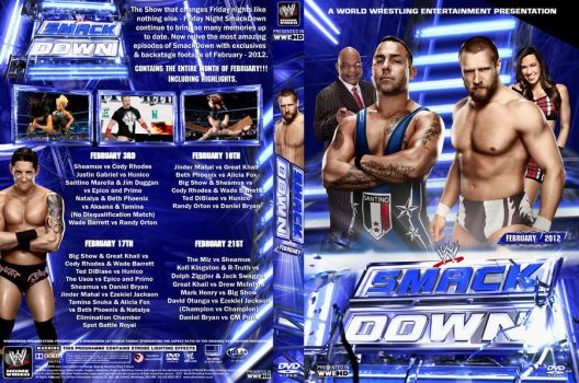 SmackDown 2012 DVD Covers By Chirantha On DeviantArt
