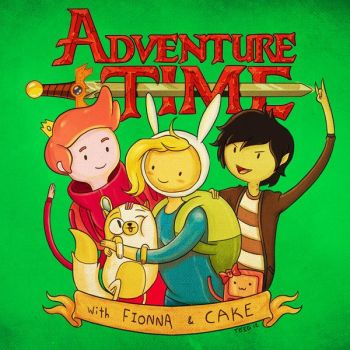 With Fionna and Cake by TeegKetchen