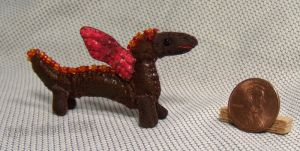 Mini Patchwork Dragon No. 24 by Kyle-Lefort