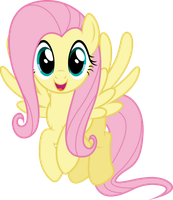 Vector #412 - Fluttershy #24 by DashieSparkle