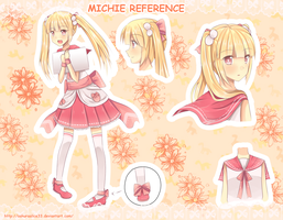 (OC) Michie Reference by SakuraAlice33
