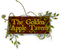 Golden Apple Tavern Logo by Aurhia