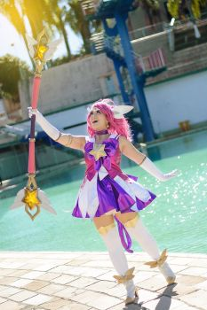 In the name of Demacia, I punish you! Lux Cosplay by Kitsune-Raposa