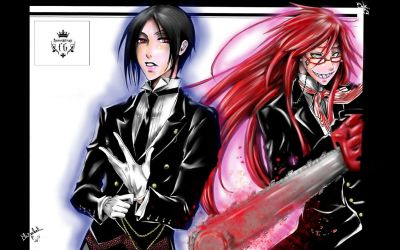 Sebastian and Grell by FuriarossaAndMimma