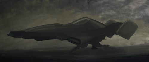Spaceship Concept by gordon131