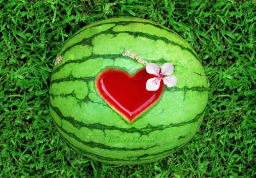 Watermelon by I-Love-Photography
