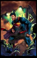 Action Comics  1 Variant Cover By Jim Lee XGX by knytcrawlr