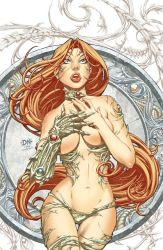 witchblade print by CeeCeeLuvins